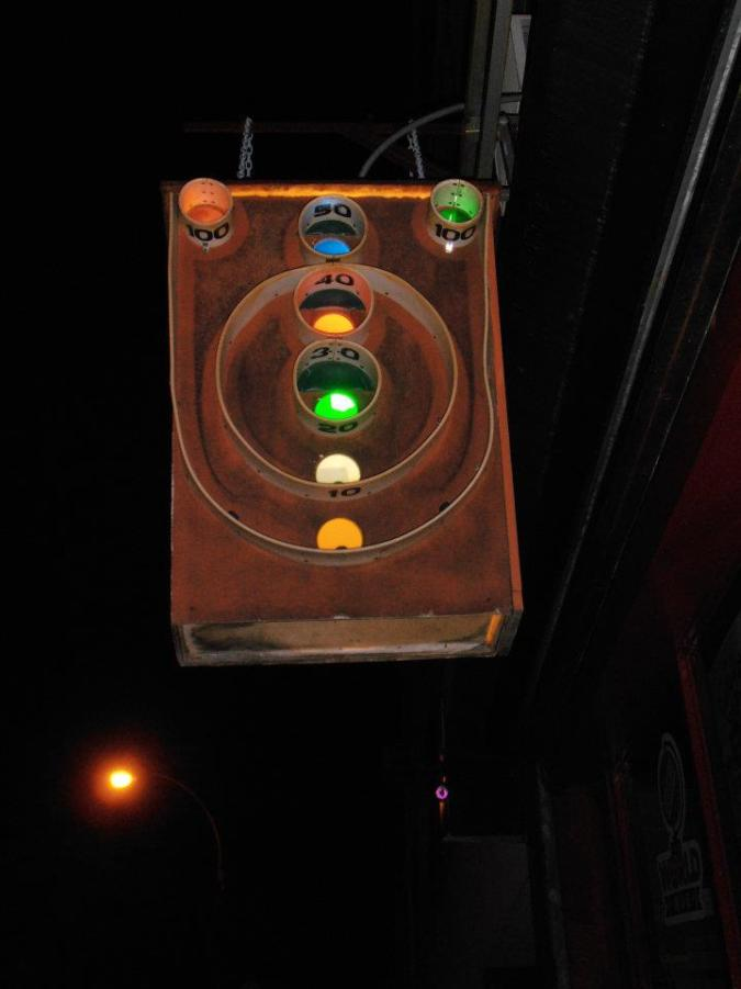 Full Circle. A skeeball bar!!!! The most magical of bars!!!