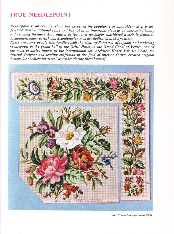 BOOK needlepoint 7