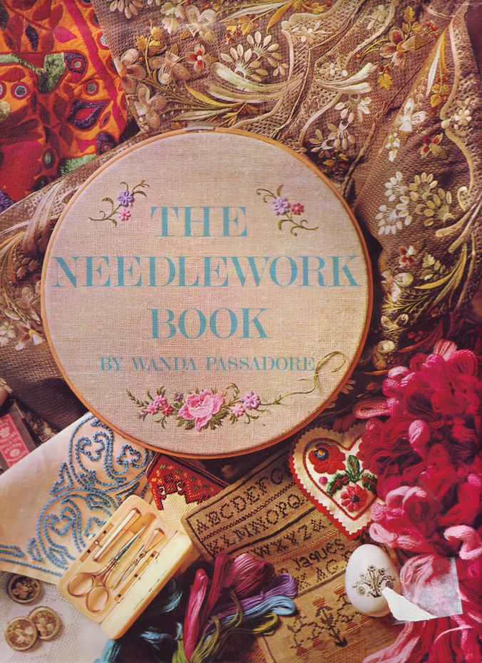 BOOK needlepoint